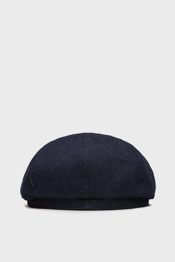 Мужское синее джинсовое кепи Riv