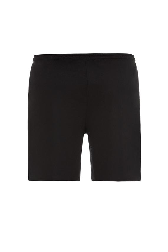 Мужские черные пижамные шорты
