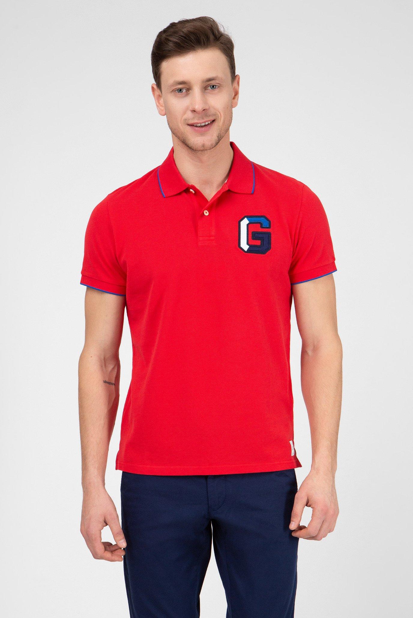 4414eba1bd11f Купить Мужское красное поло Gant Gant 2022041 – Киев, Украина. Цены в  интернет магазине MD Fashion