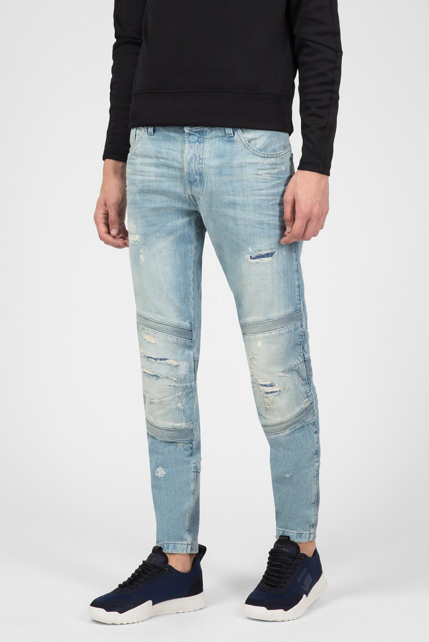 Купить Мужские голубые джинсы Motac Deconstructed 3D Slim G-Star RAW G-Star RAW D06154,8595 – Киев, Украина. Цены в интернет магазине MD Fashion