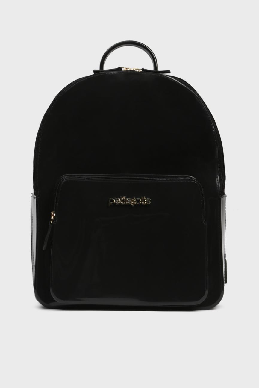Женский черный рюкзак KIT