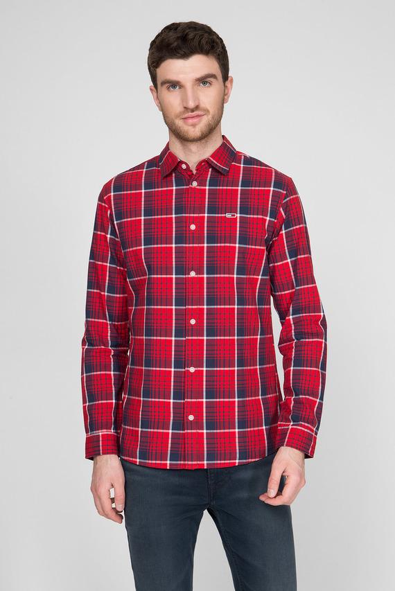Мужская рубашка в клетку TJM POPLIN