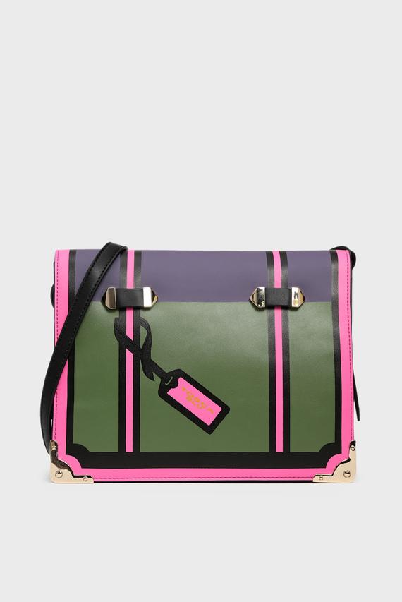 Женская зеленая сумка через плечо ALICE