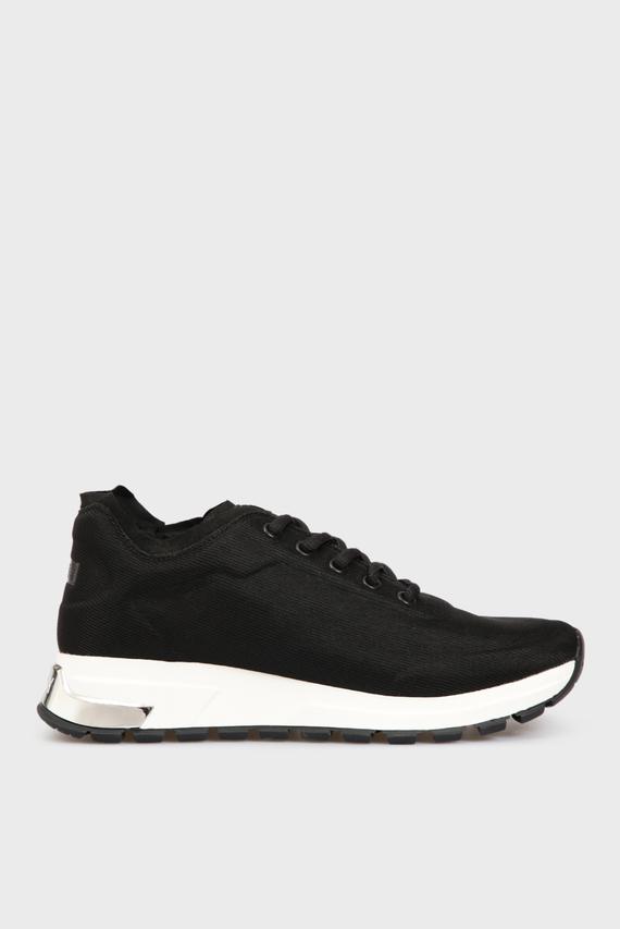 Женские черные кроссовки MAK