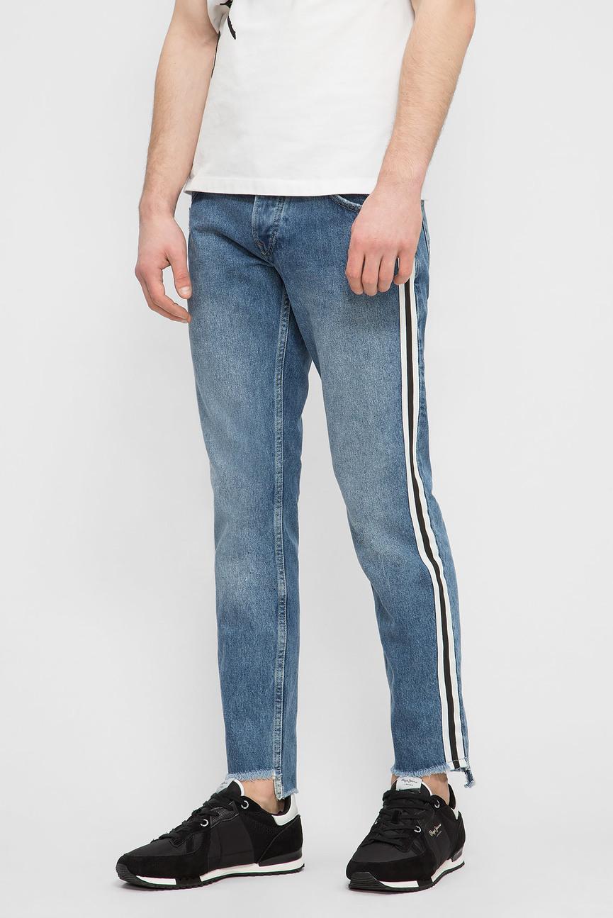 Мужские синие джинсы CANE TAPE