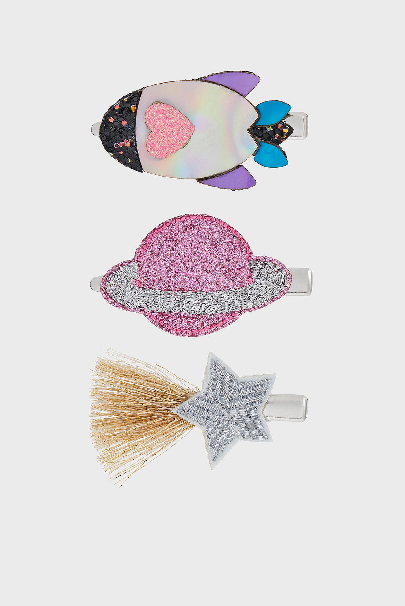 Купить Детская заколка (3 шт)  ROCKET SALON Accessorize Accessorize 783048 – Киев, Украина. Цены в интернет магазине MD Fashion