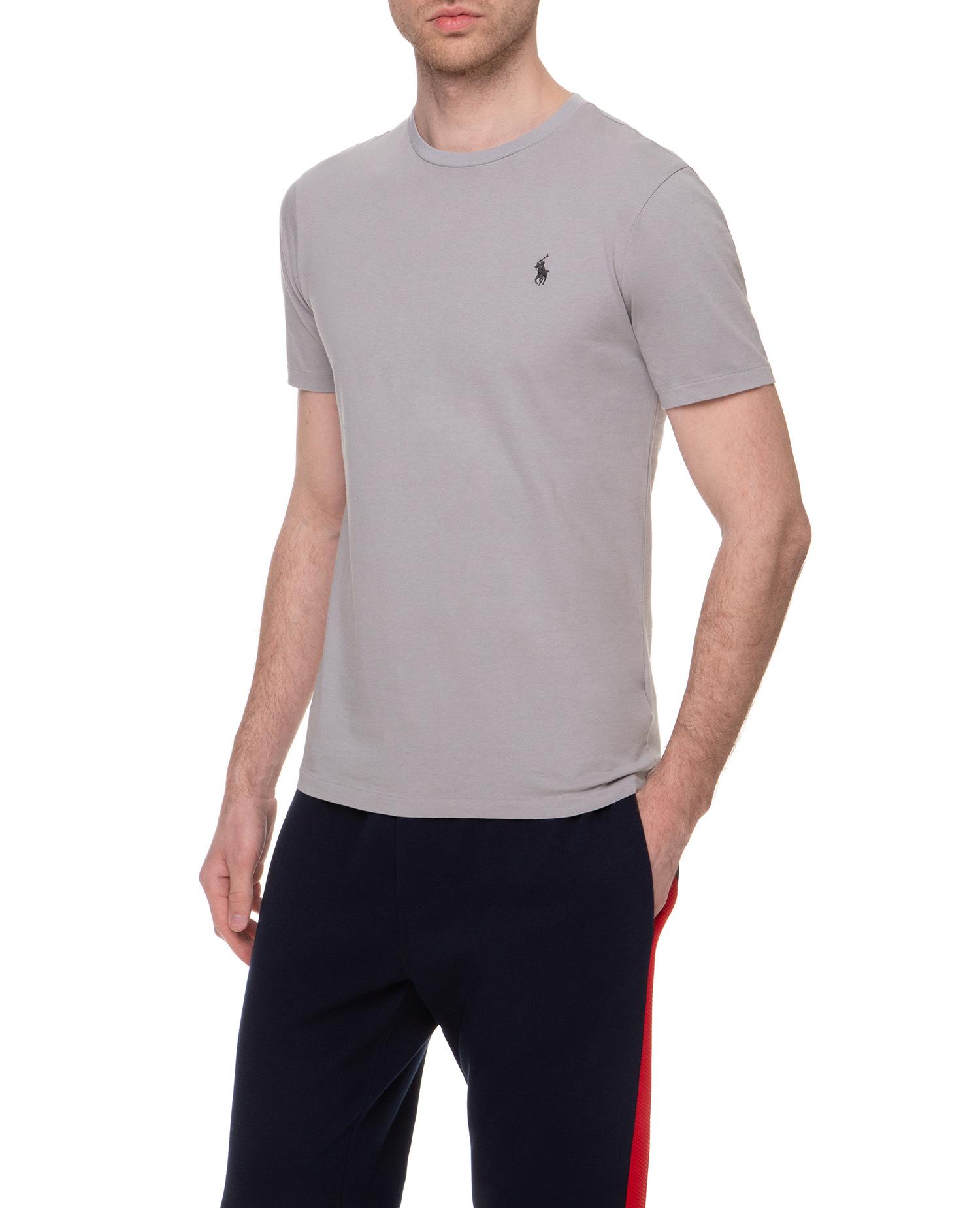 Чоловіча сіра футболка Custom Slim Fit 1