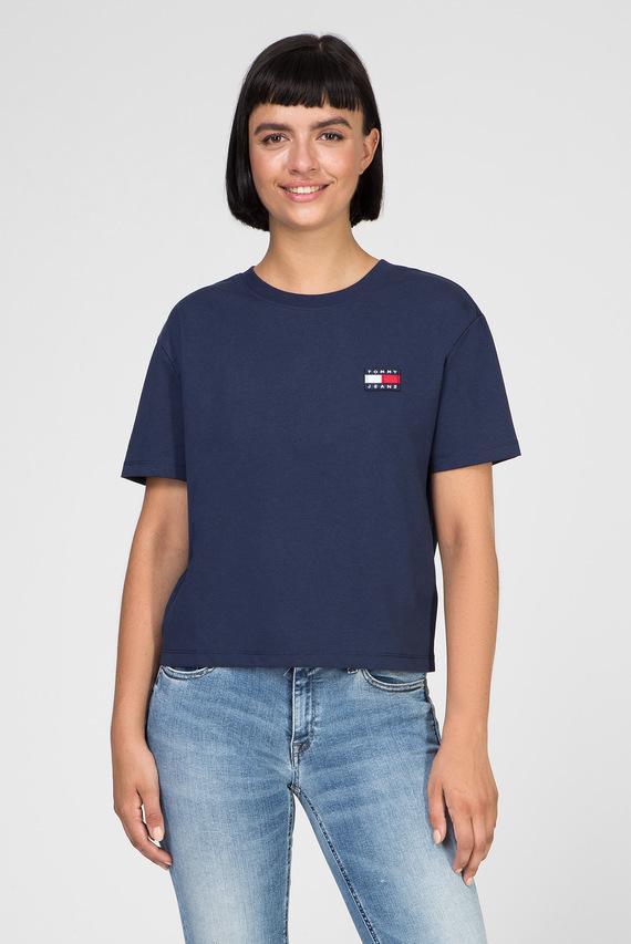 Женская темно-синяя футболка TJW TOMMY BADGE TEE