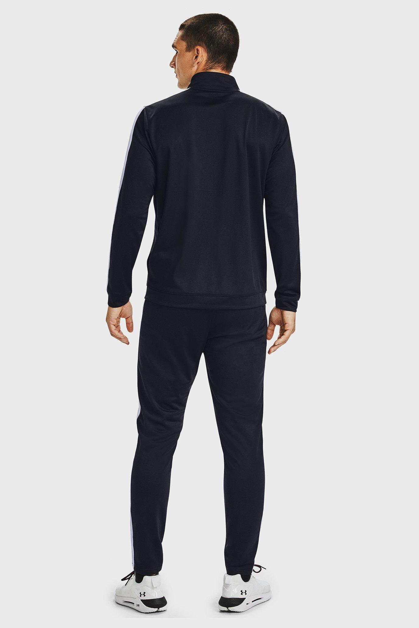 Чоловічий чорний спортивний костюм (кофта, штани) UA EMEA Track Under Armour