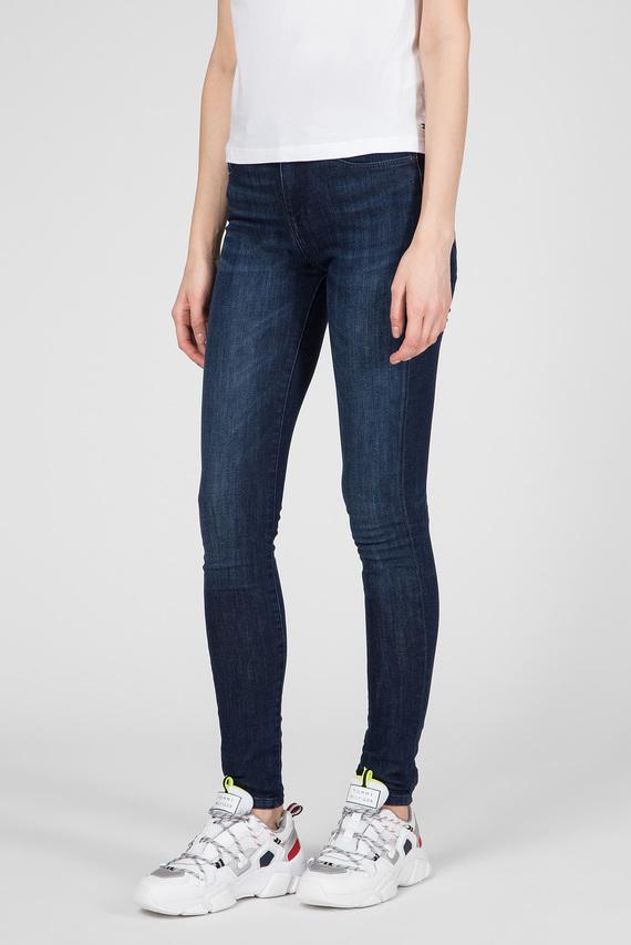 Женские темно-синие джинсы COMO SKINNY