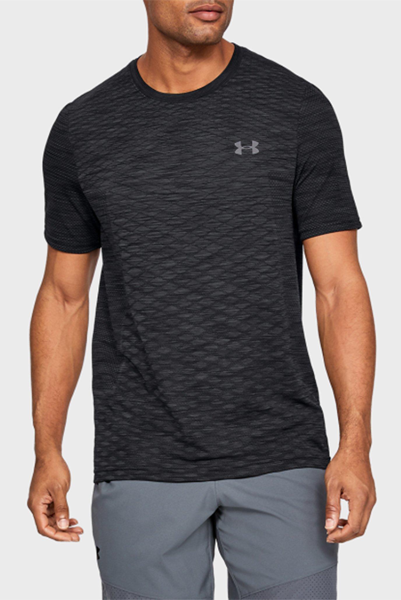 Чоловіча чорна футболка Vanish Seamless SS Novelty 1