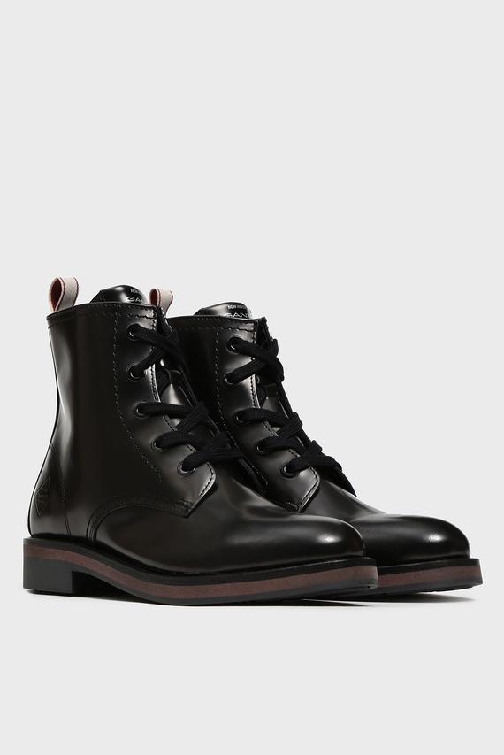 Женские черные ботинки MALIN