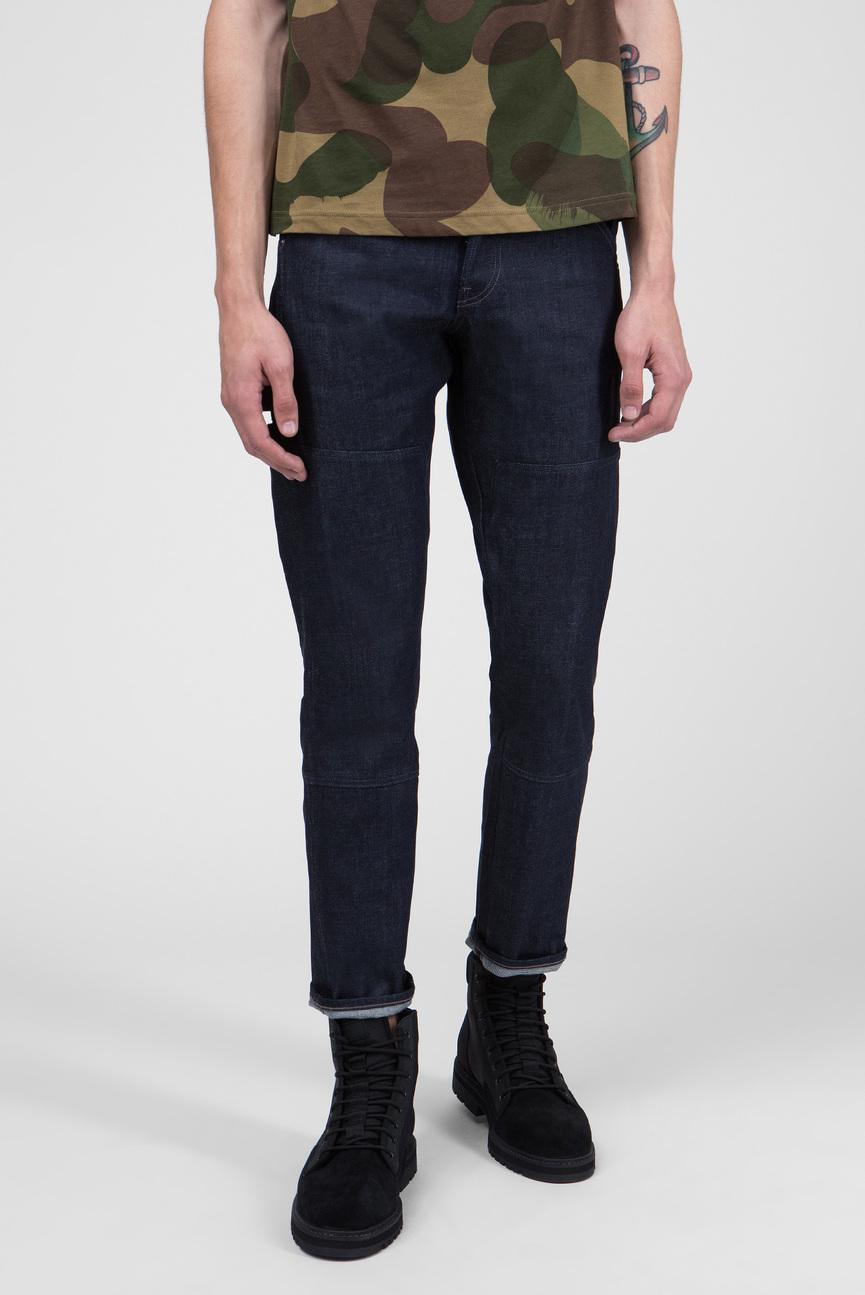 Мужские темно-синие джинсы Faeroes Classic Straight Tapered