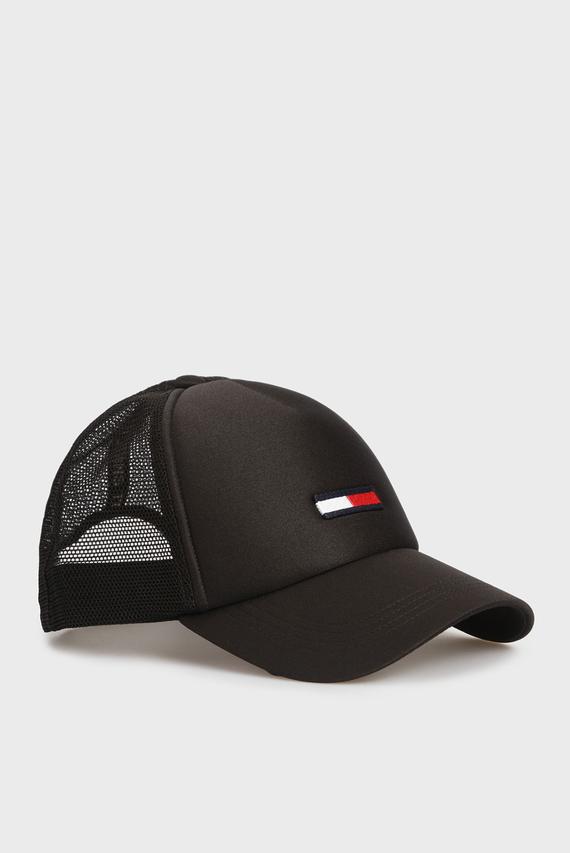 Мужская черная кепка TJM TRUCKER