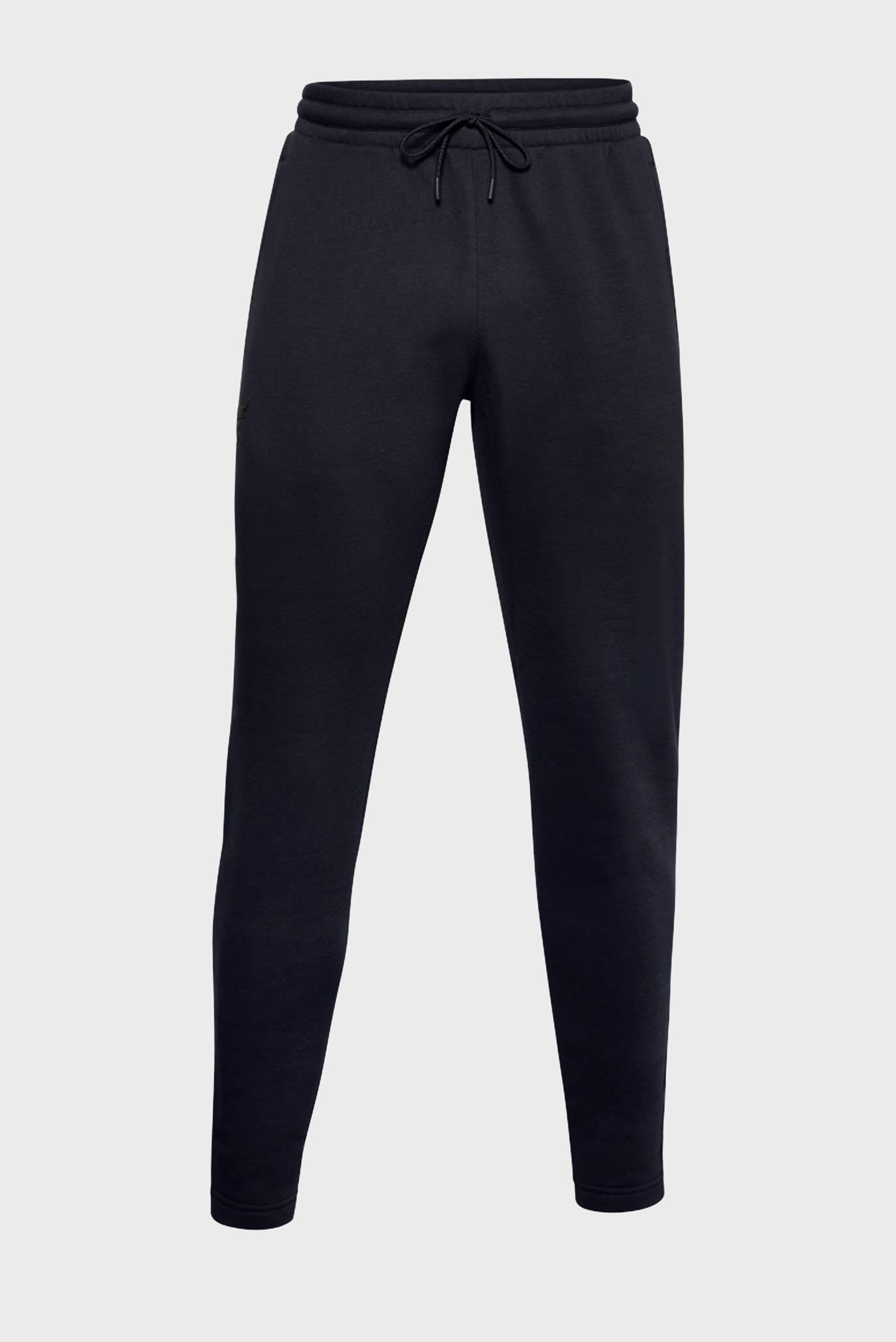 Чоловічі чорні спортивні штани UA PJT ROCK CC FLEECE 1