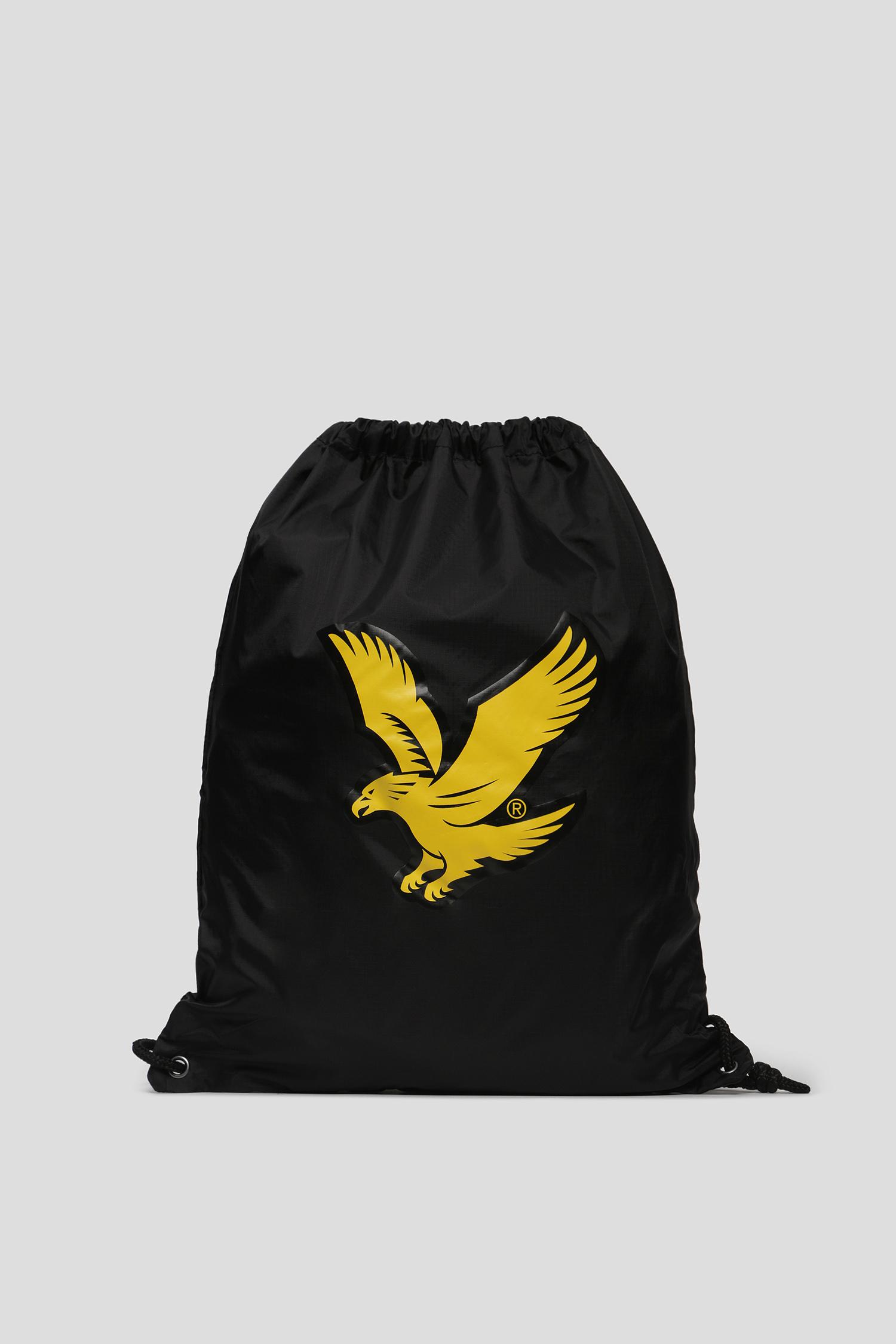 Мужской черный рюкзак Lyle & Scott