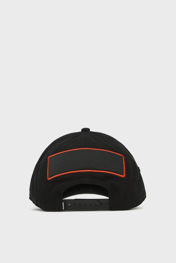 Черная кепка CEGLE CAPPELLO