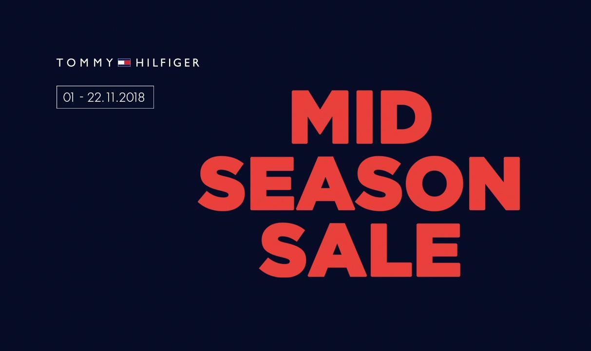 Tommy Hilfiger Mid Season Sale