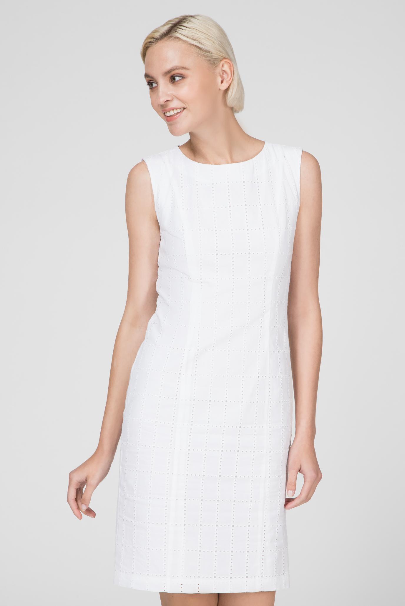 d0cc83fb3286 Купить Женское белое платье BRODERIE ANGLAISE Gant Gant 4501041 ...