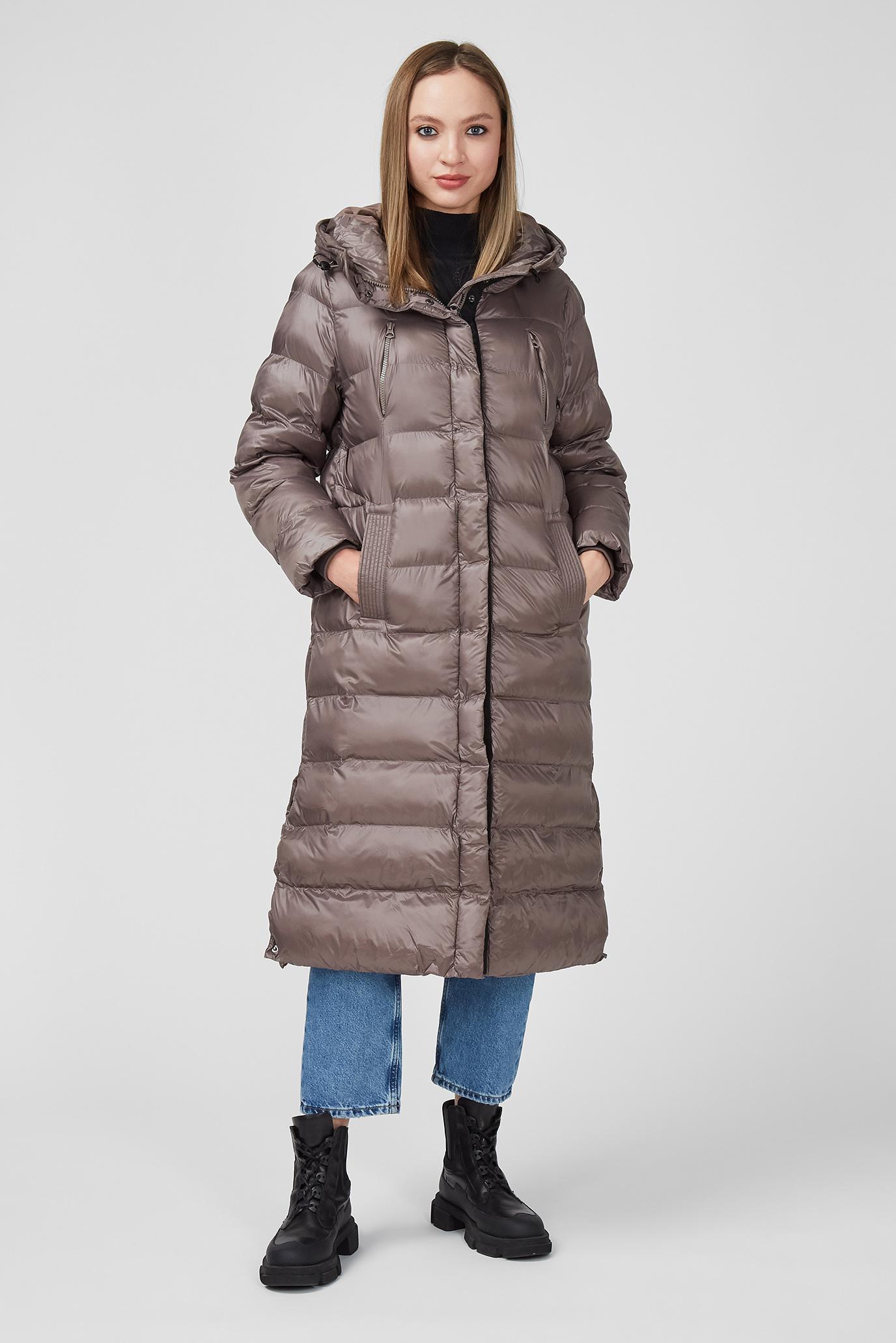 Жіноча коричнева куртка LIZZY 1
