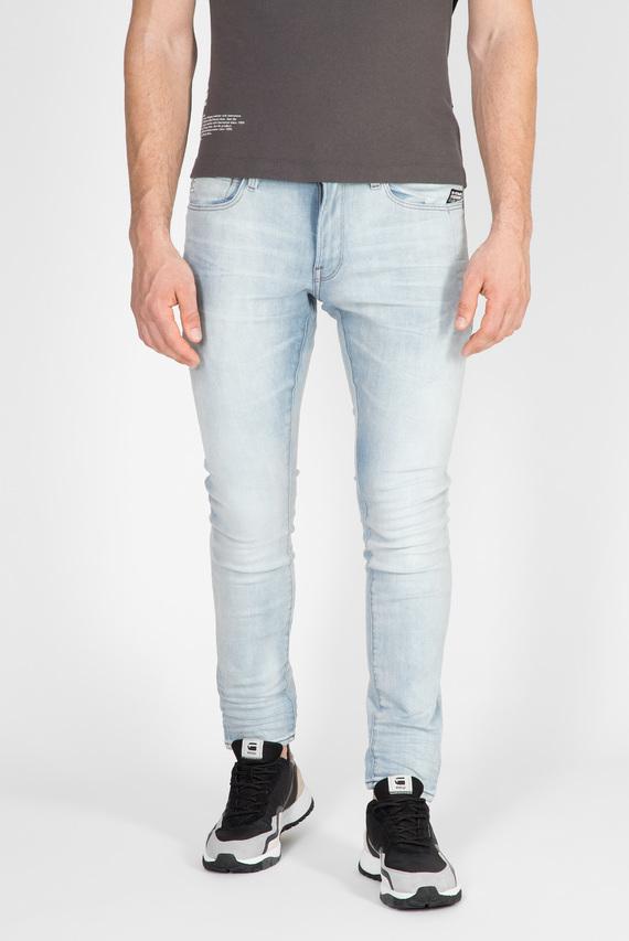 Мужские голубые джинсы 4101 Lancet Skinny