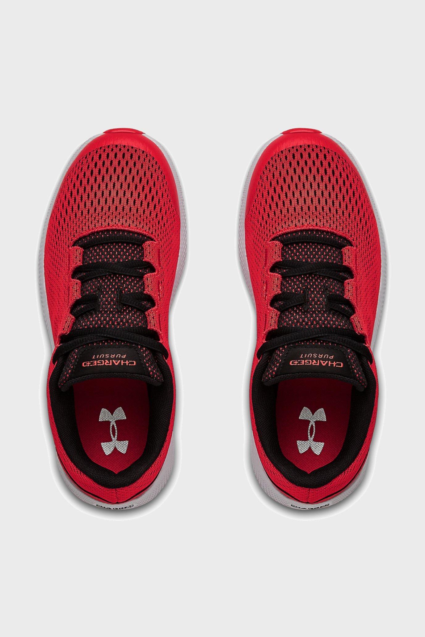 Дитячі червоні кросівки UA GS Charged Pursuit 2-RED Under Armour