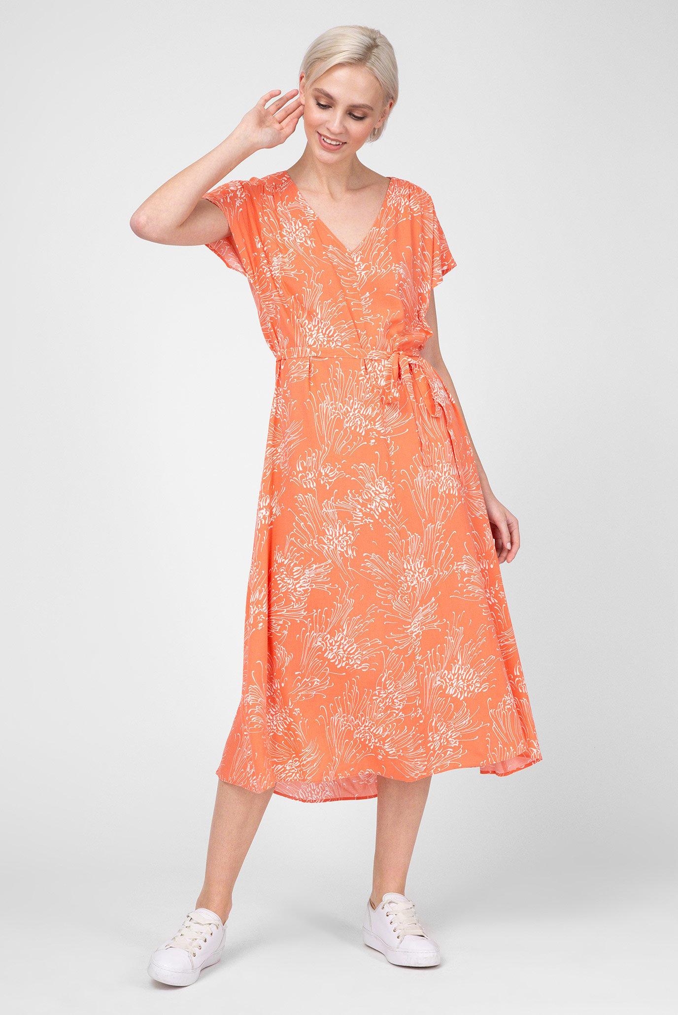 35871a42bb3f Купить Женское оранжевое платье с принтом Gant Gant 4503059 – Киев ...