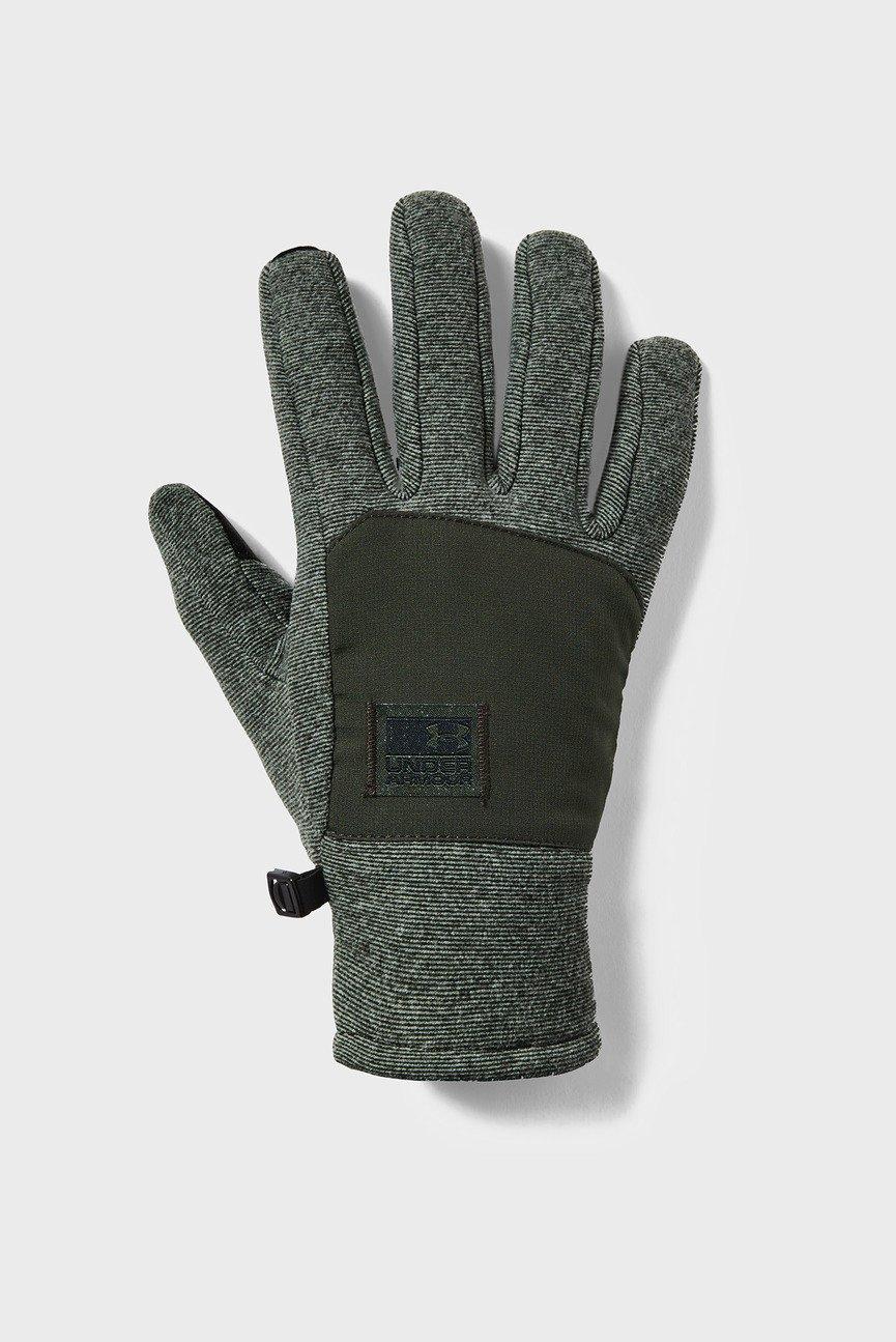 Мужские зеленые перчатки CGI Fleece Glove