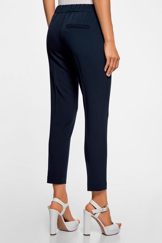 Женские синие брюки