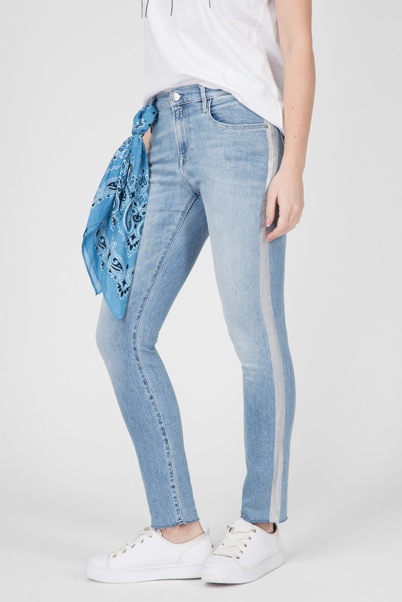 Женские голубые джинсы VIVY