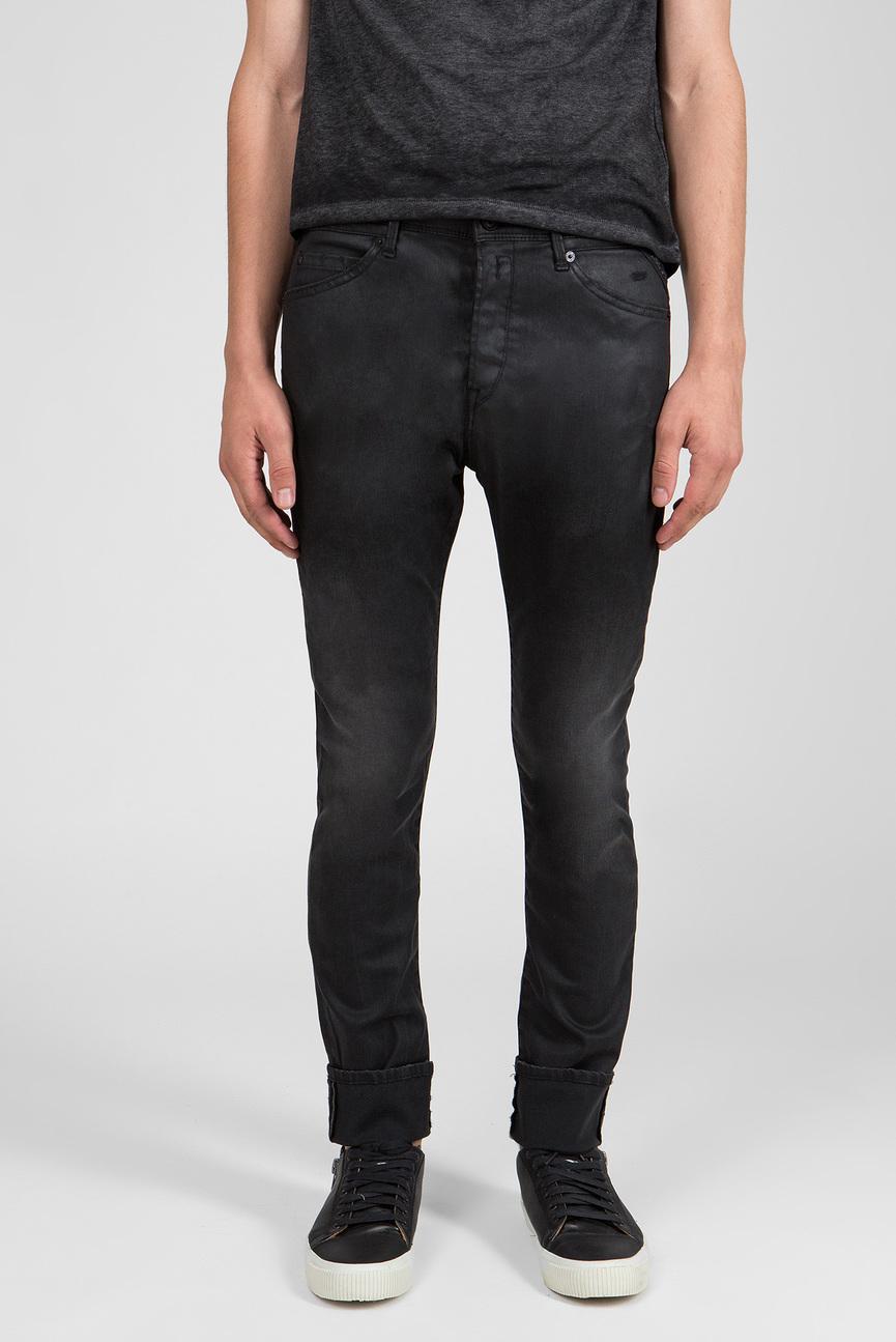Мужские черные джинсы EZHIR