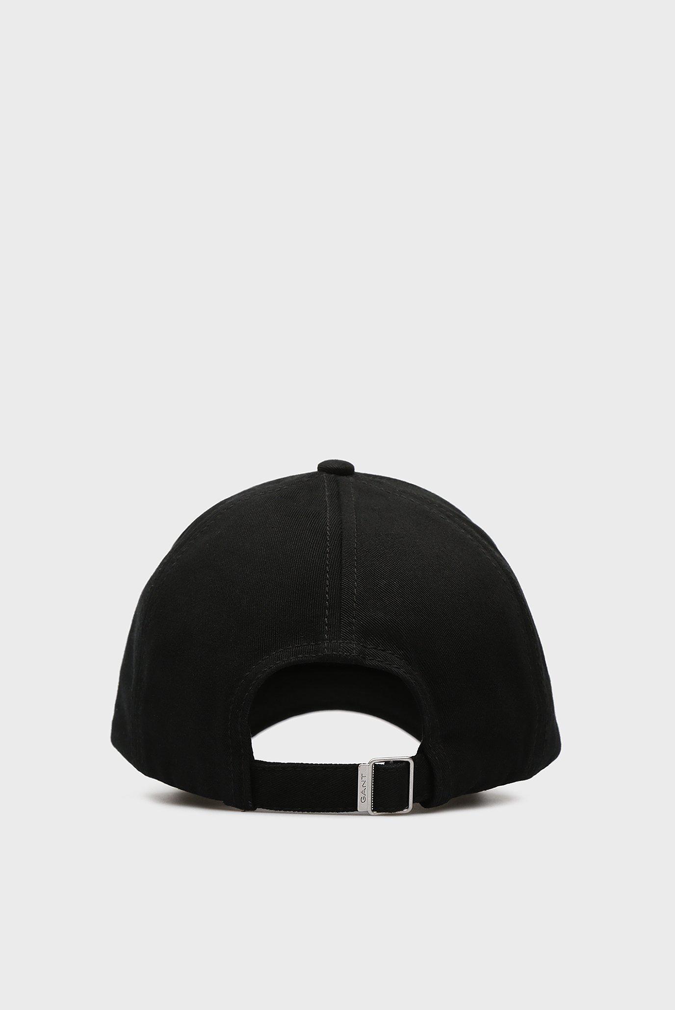 Мужская черная кепка Gant