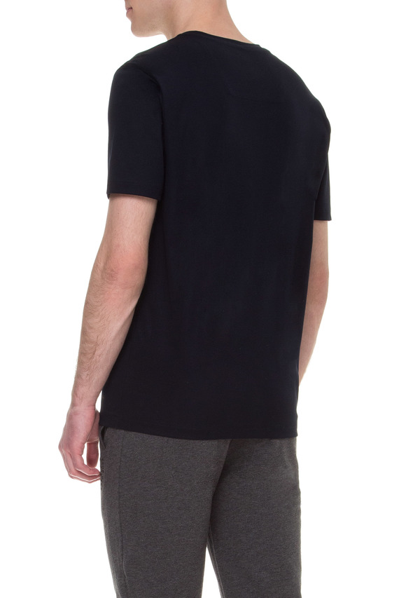 Мужская темно-синяя футболка BOSS HUGO BOSS X KONSTANTIN GRCIC