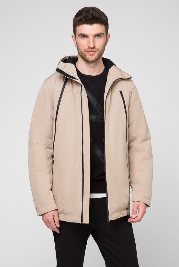 Мужская бежевая куртка