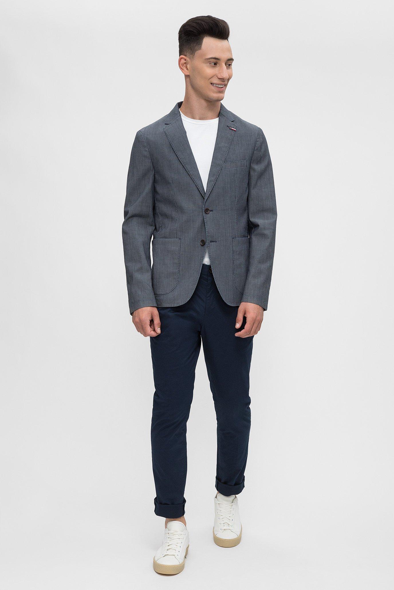 Купить Мужской синий пиджак  Tommy Hilfiger Tommy Hilfiger MW0MW05269 – Киев, Украина. Цены в интернет магазине MD Fashion