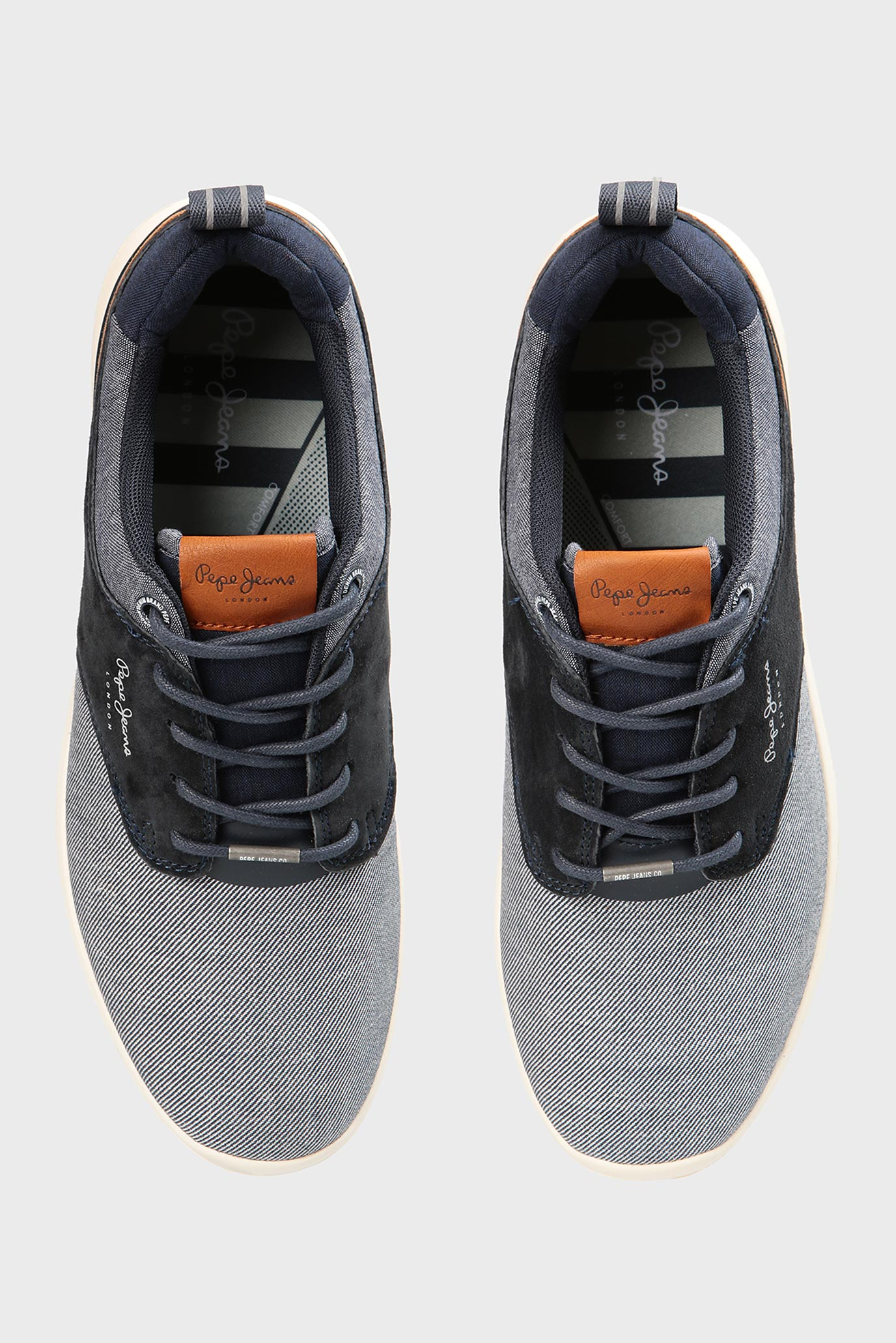 Купить Мужские синие кроссовки Pepe Jeans Pepe Jeans PMS30432 – Киев, Украина. Цены в интернет магазине MD Fashion