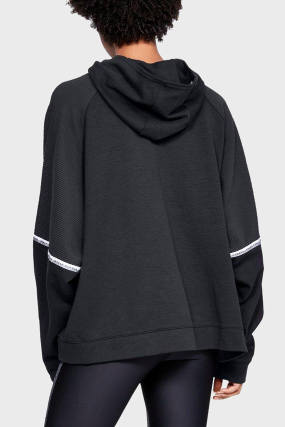 Женское черное худи UNSTOPPABLE DOUBLE KNIT OS HOODIE
