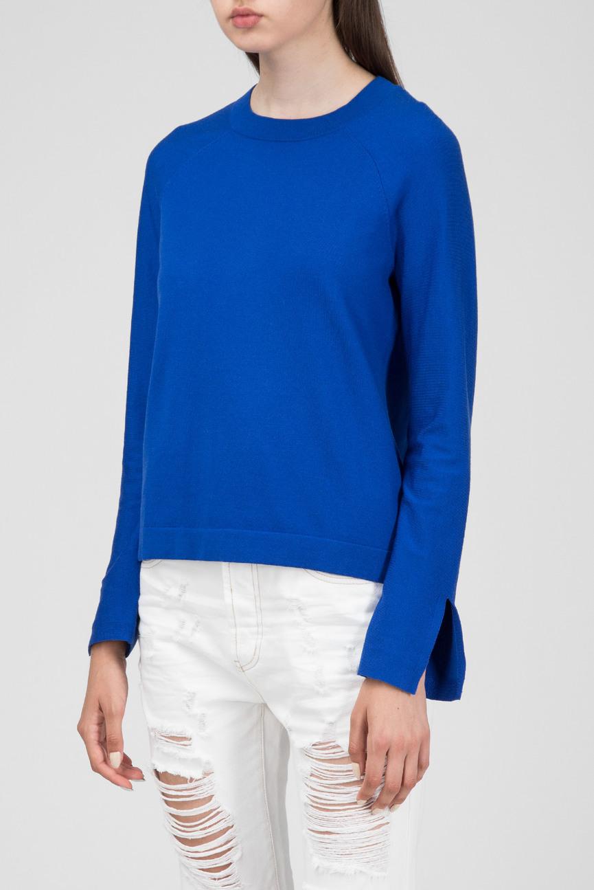 Женский синий джемпер