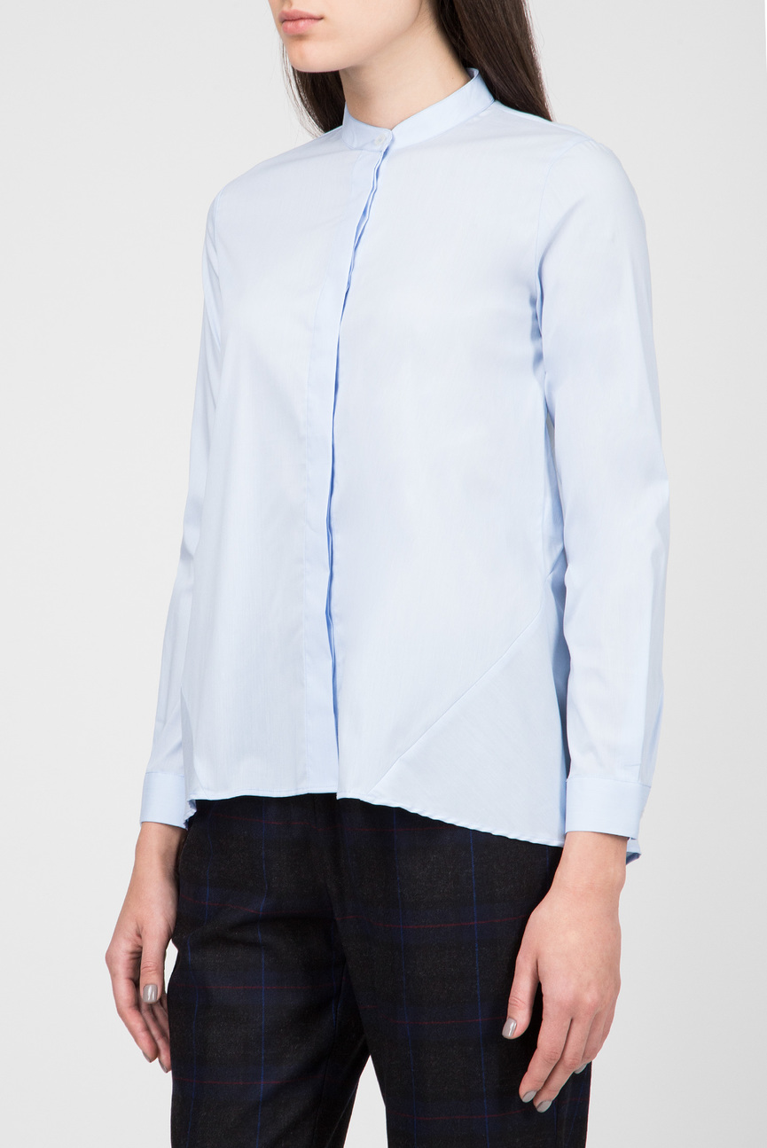 Женская голубая блуза CAMICIA