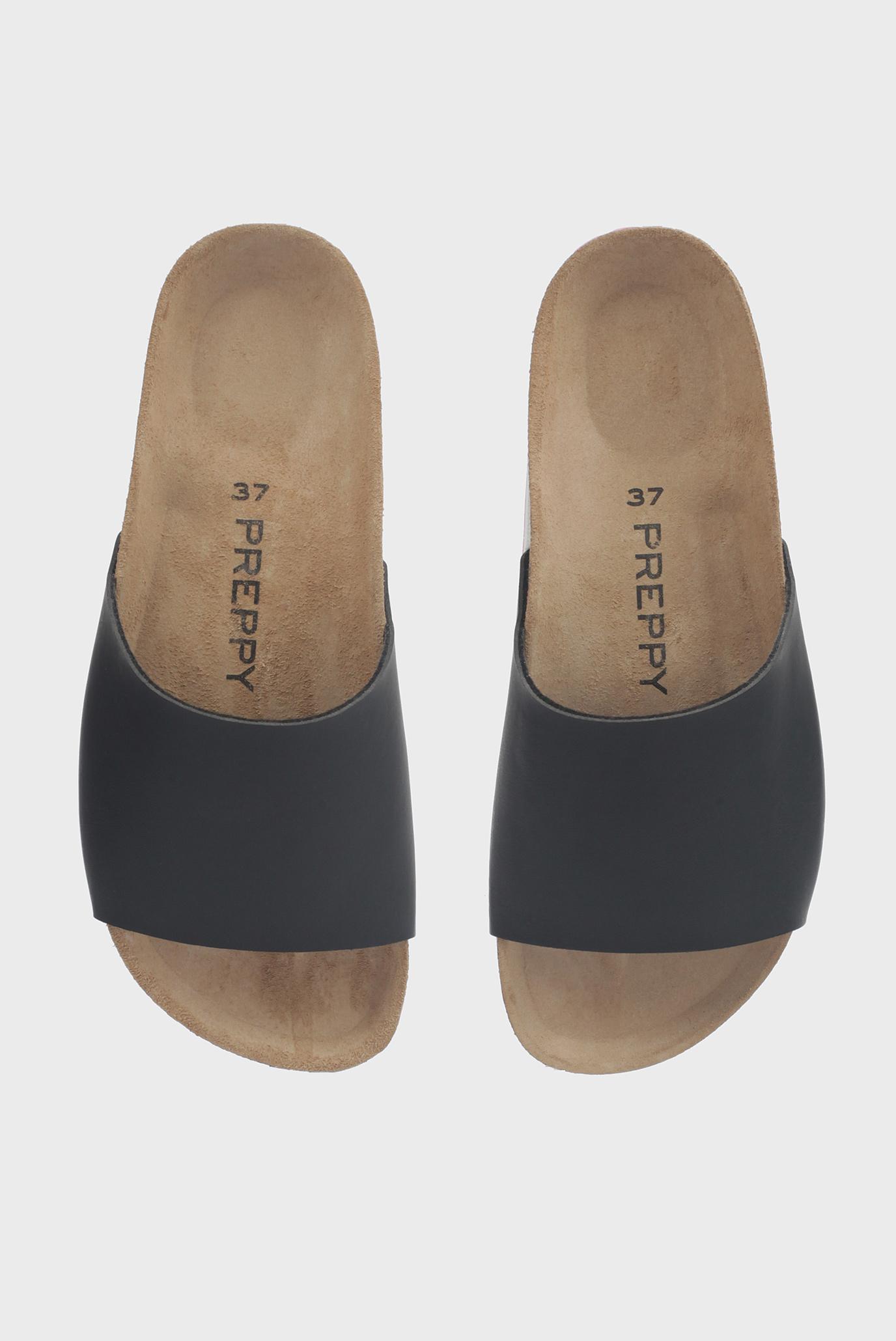 Купить Женские черные слайдеры Preppy Preppy 8.71.8512.419 – Киев, Украина. Цены в интернет магазине MD Fashion