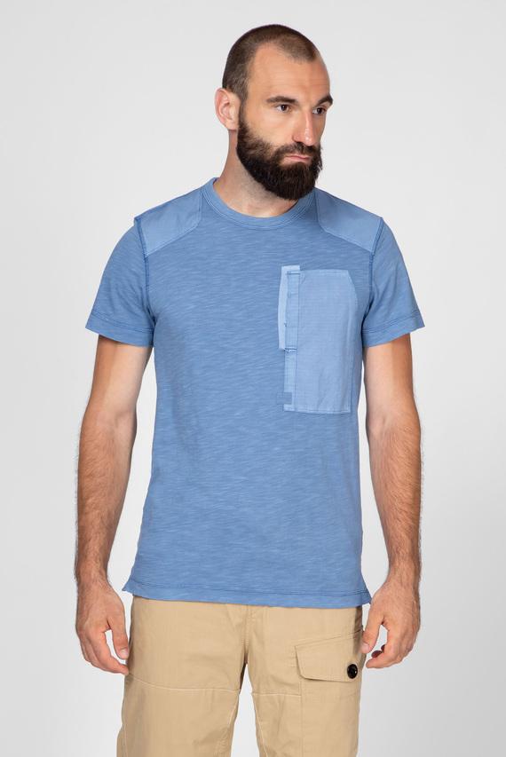 Мужская голубая футболка Arris pkt