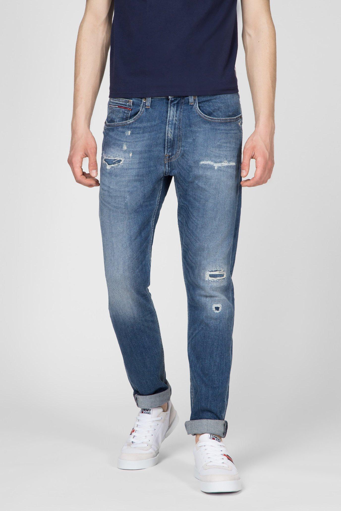 Купить Мужские синие джинсы MODERN TAPERED TJ 1988 Tommy Hilfiger Tommy Hilfiger DM0DM05641 – Киев, Украина. Цены в интернет магазине MD Fashion