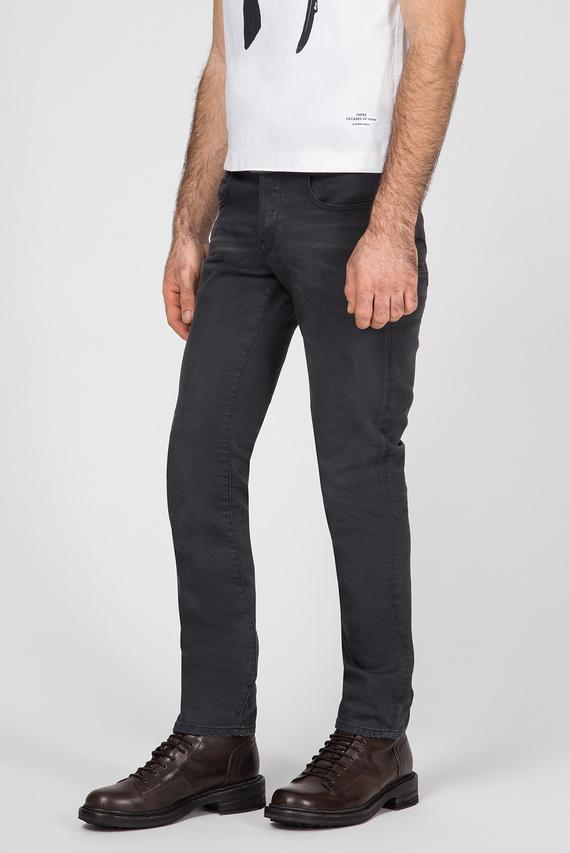 Мужские темно-серые джинсы Radar zip straight tapered