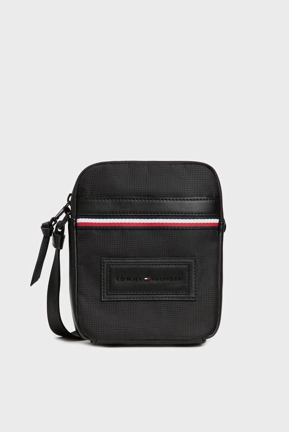 Мужская черная сумка через плечо MODERN NYLON MINI REPORTER