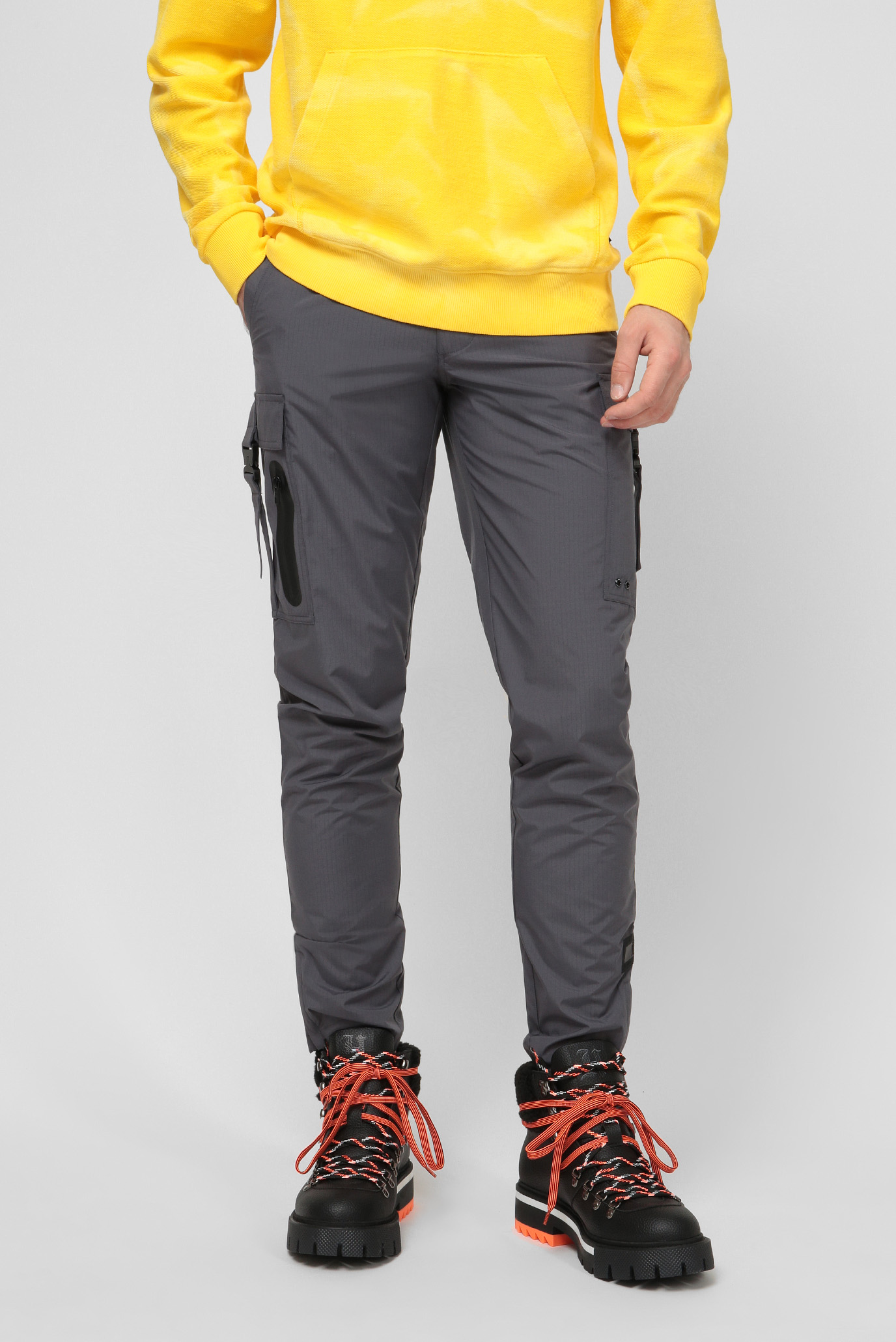 Чоловічі сірі брюки Lewis Hamilton RIPSTOP CARGO PANT 1