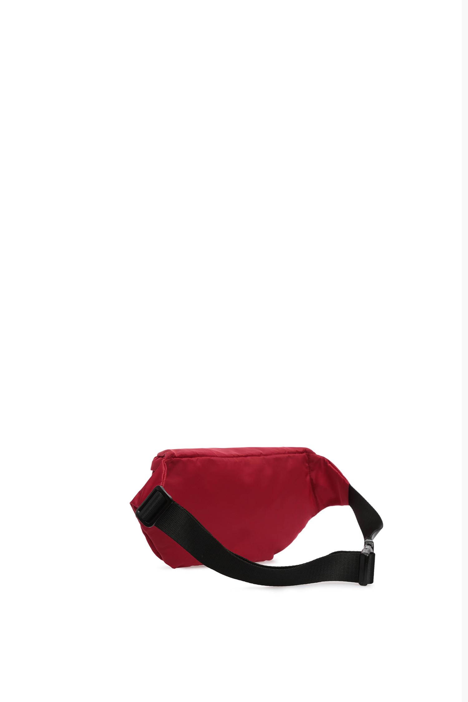 Мужская красная поясная сумка Guess