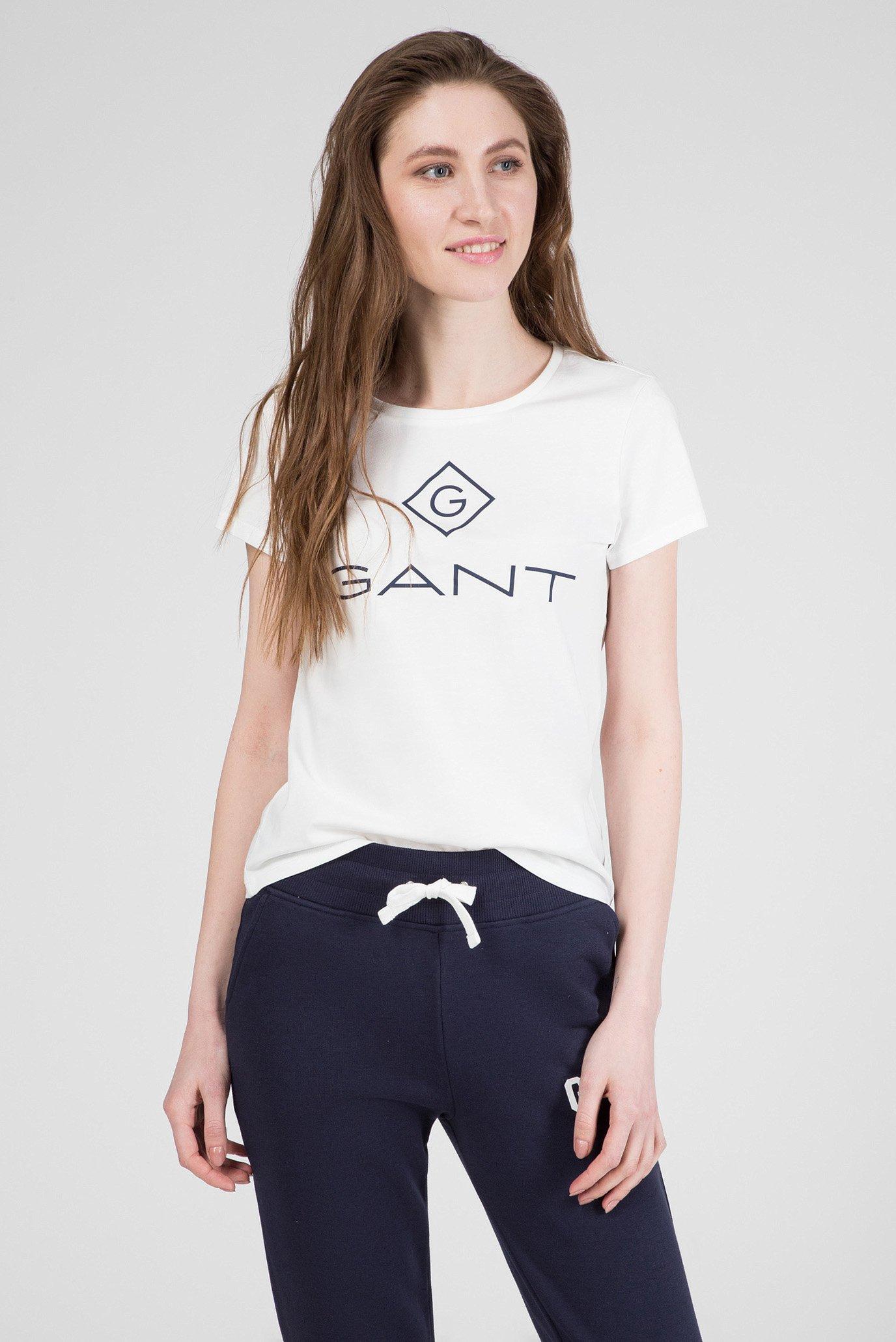 Женская белая футболка LOCK UP 1