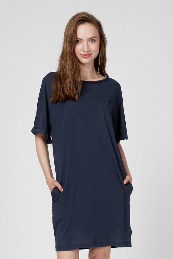 Женское темно-синее платье Joosa