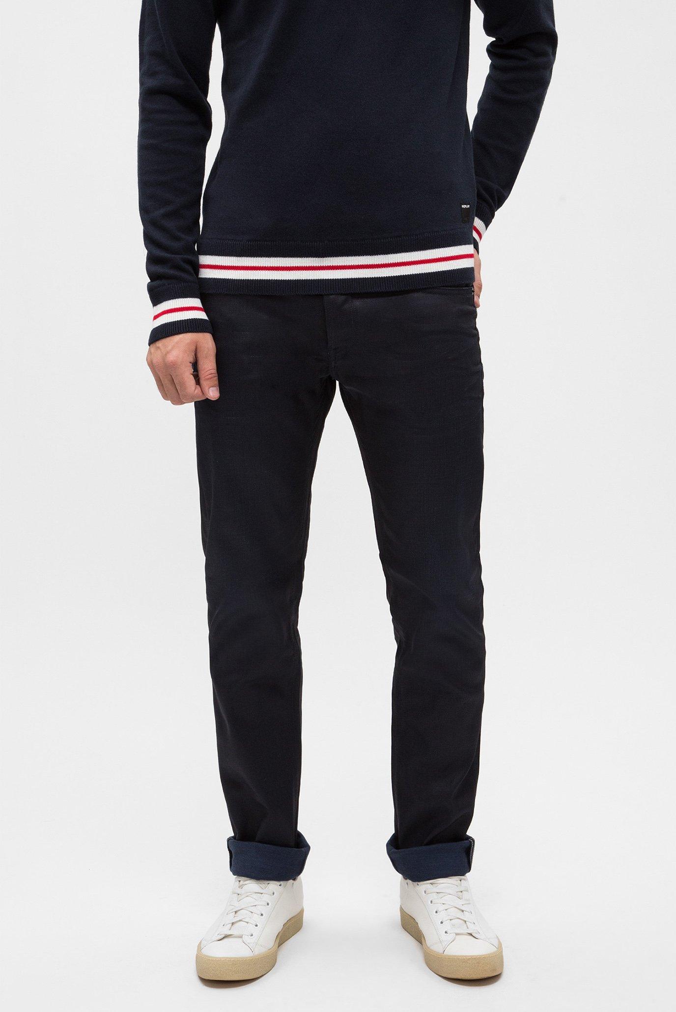 Купить Мужские темно-синие джинсы GROVER Replay Replay MA972 .000.25A 312 – Киев, Украина. Цены в интернет магазине MD Fashion