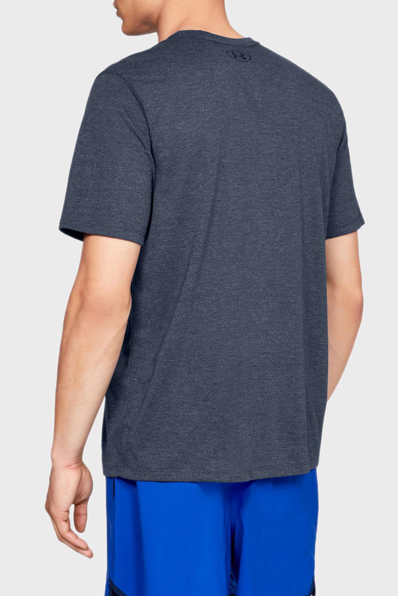 Купить Мужская синяя футболка UA Threadborne SS Under Armour Under Armour 1325029-408 – Киев, Украина. Цены в интернет магазине MD Fashion
